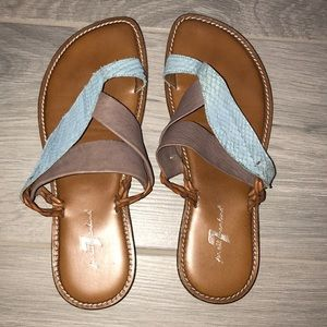 7 for all Mankind Sandals